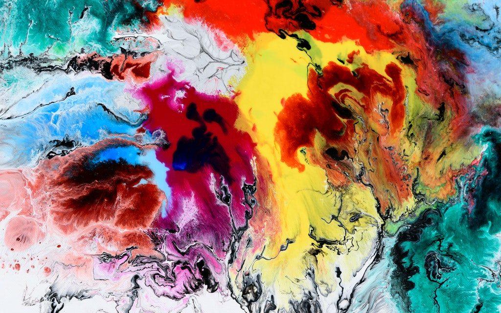 Indret med maskuline farver