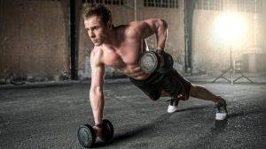 mænd og fitness