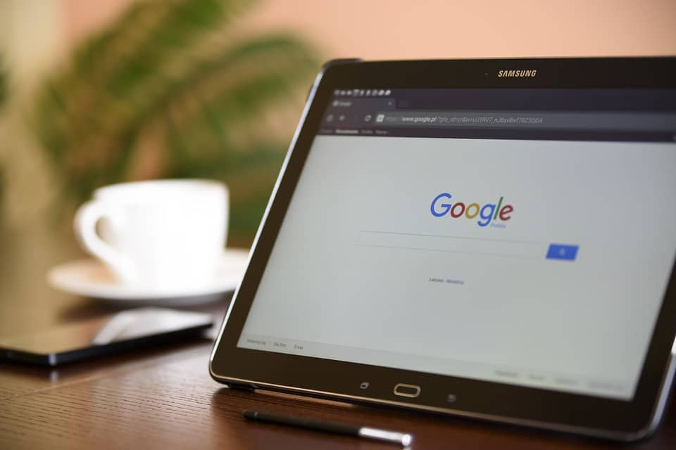 Tablet med Google