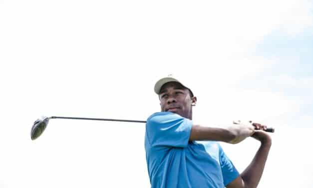 En rigtig mand kan godt spille golf