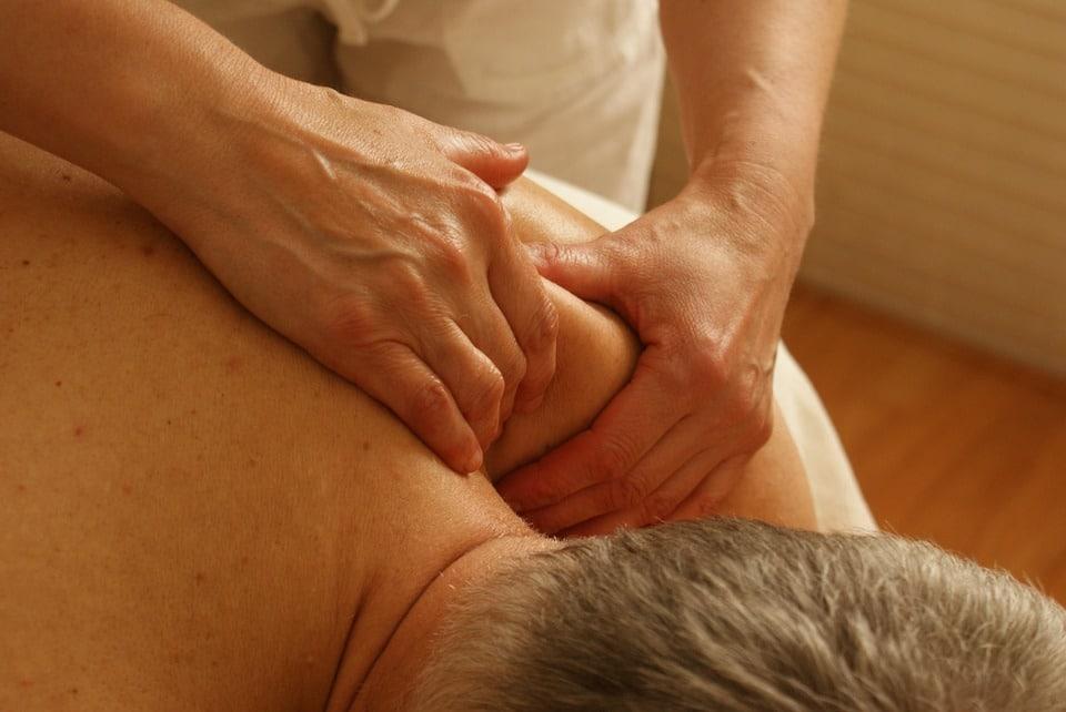 Afslapning-massage