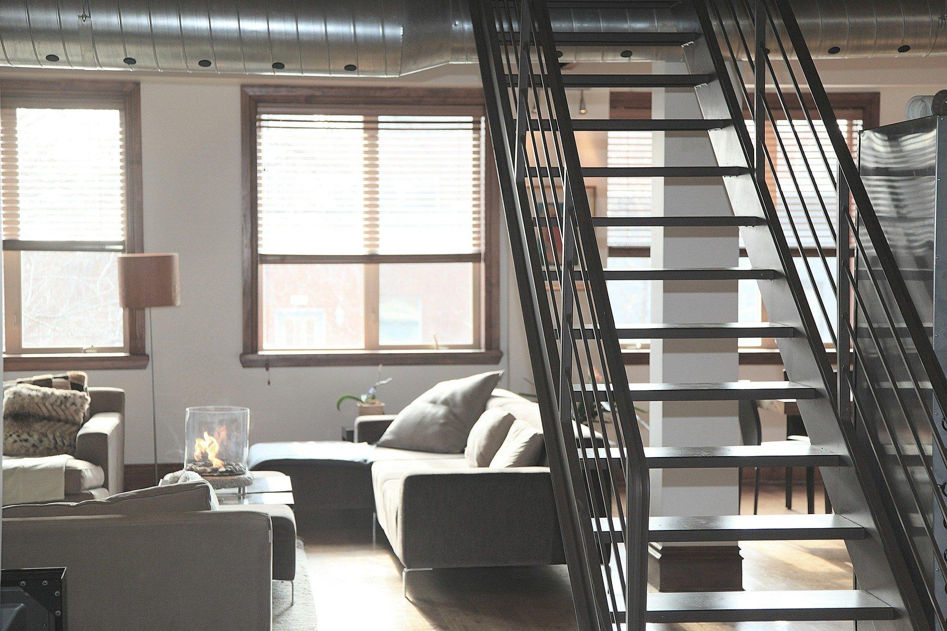 Lejlighed med trapper