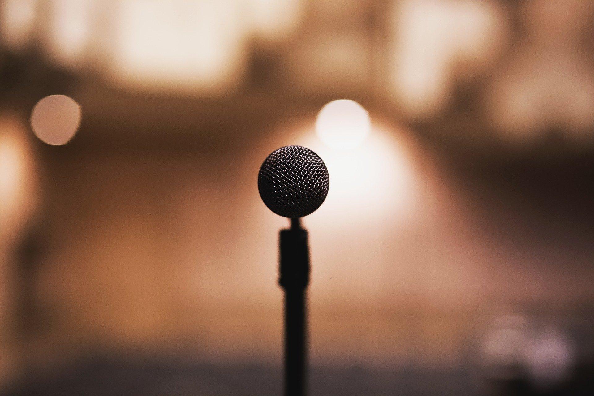 mikrofon og musik