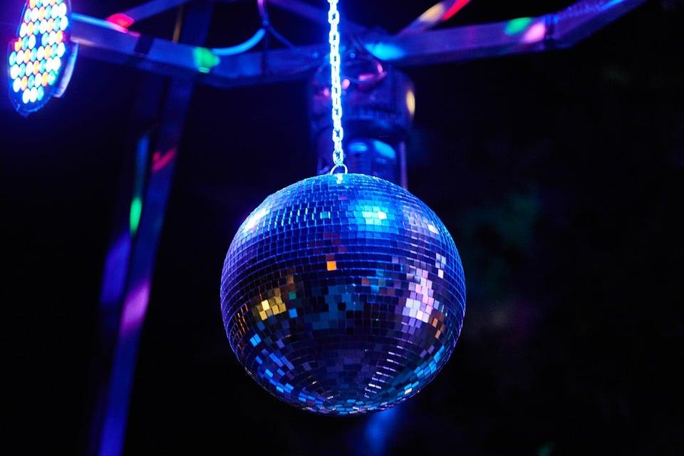 fest, lys, stemning, disko, diskotek, bold