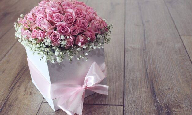 Rigtige mænd sender blomster