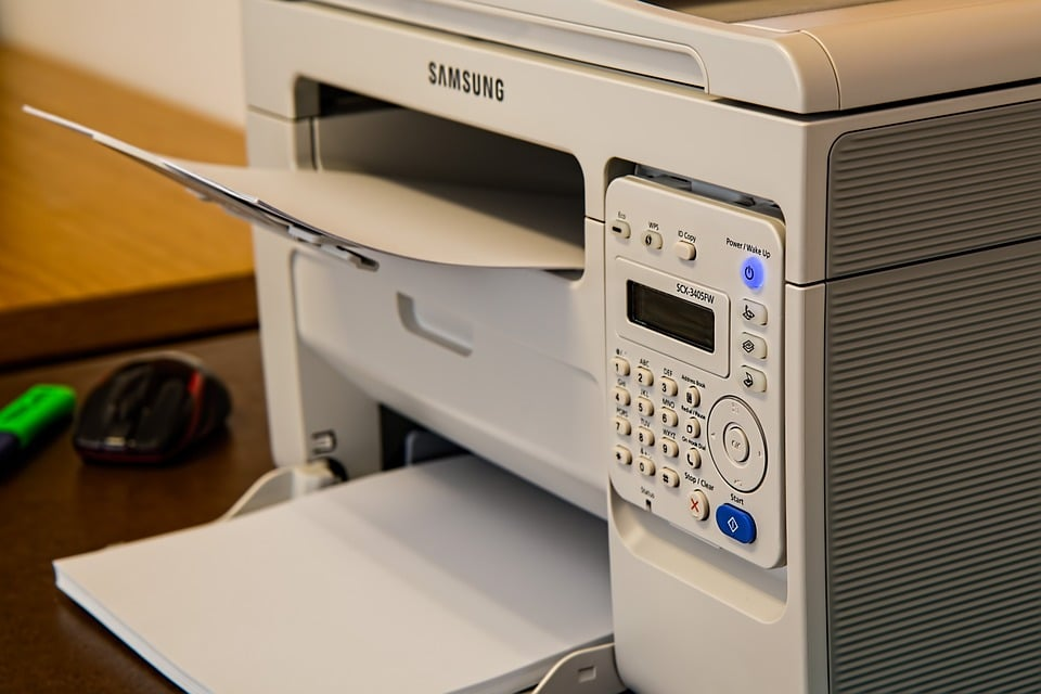 Printer paa kontor